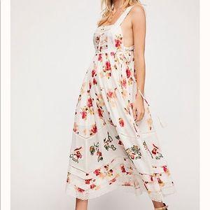 Free People Floral Bird Maxi Dress•szS